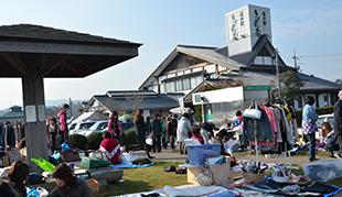 フリーマーケット開催のお知らせ 写真