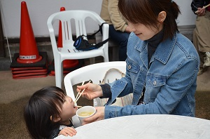 2月7日に豚汁を振舞います (*^。^*) 写真
